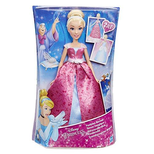 Hasbro Disney Prinzessin  - Verwandle dich Cinderella, Puppe