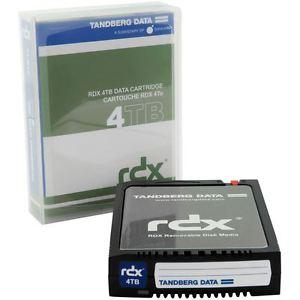TANDBERG RDX 4TB CARTRIDGE NEU (8824-RDX)  In großer Stückzahl zum Hammerpreis von nur 354,80€ inkl. Versand!!