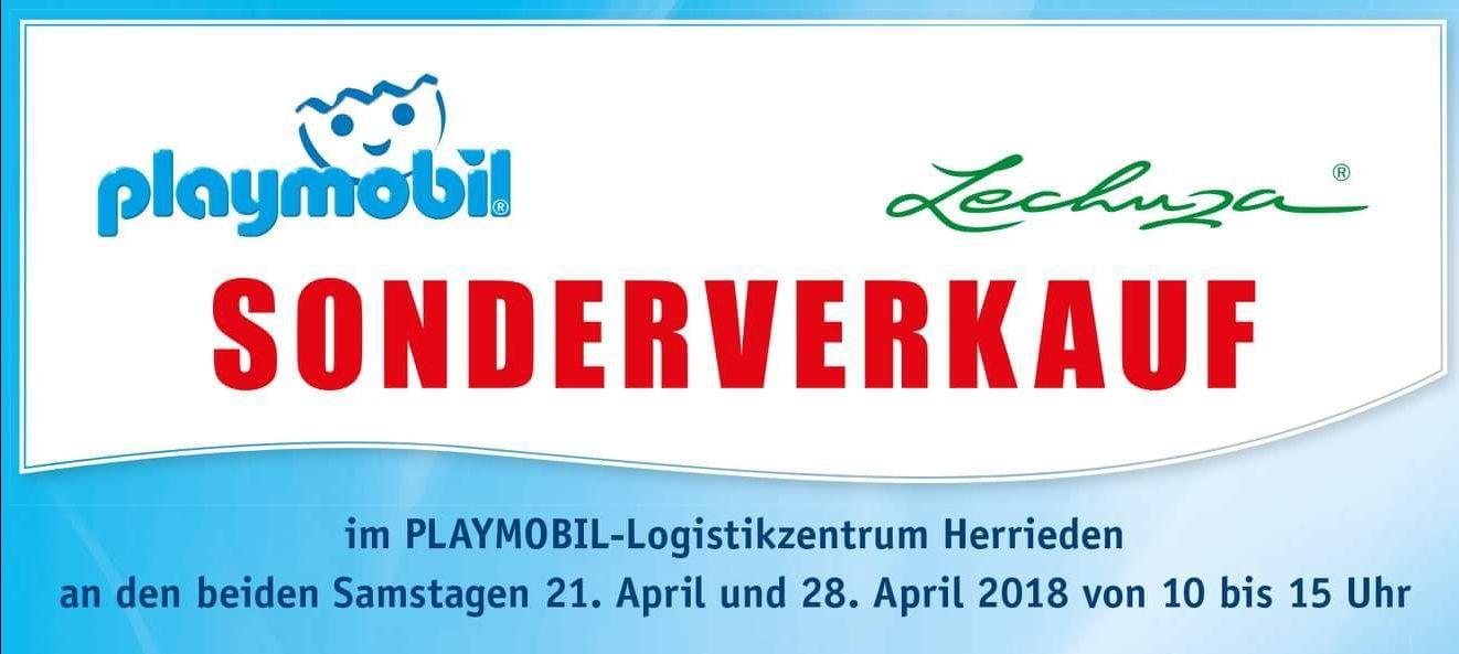 PLAYMOBIL Sonderverkauf Herrieden (bis zu 60%)