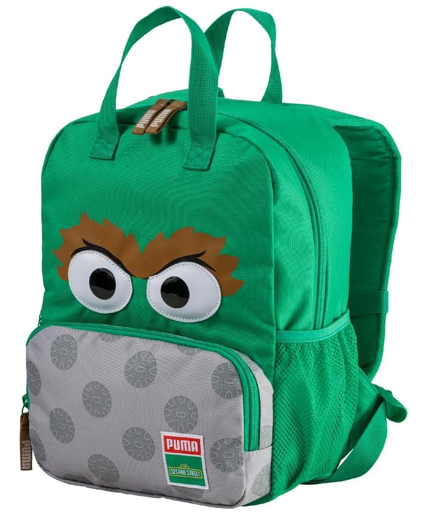 Puma Sesame Street Backpack - bright green-oscar
