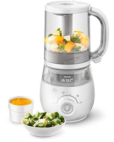 Philips Avent SCF875/02 4-in-1 Babynahrungszubereiter (Dampfgarer und Mixer) @ Amazon.de