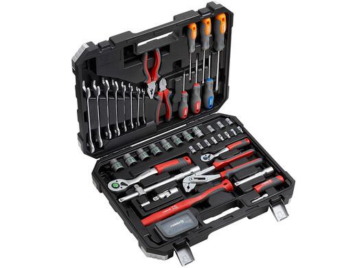 [ibood] Meister Werkzeugkoffer | 76-teilig  DIY Ausverkauf, diverse Rabatte
