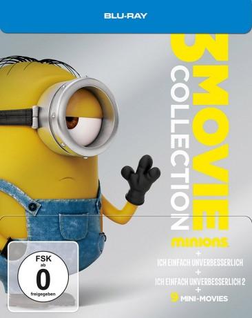 Minions 3 Movie Collection Limited Steelbook (Blu-ray) für 10,87€ (Media-Dealer)