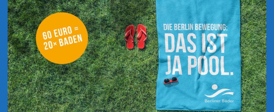 Sommer-Mehrfachkarte 2018  Berliner Bäder Betriebe