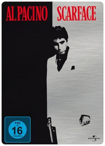 Scarface - Steelbook (DVD) für 6,99€ [Media-Dealer]