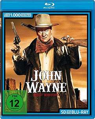 32 John Wayne Western-Klassiker auf Blu-ray (Amazon Prime)