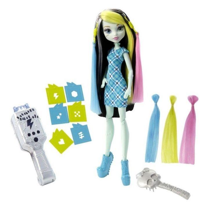 Mattel Monster High Blitzfrisur Frankie @Real.de versandkostenfrei