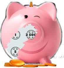 """[Lottopalace Neu- und Bestandskunden] 5 Rubbellose """"Knack das Sparschwein"""" + 10 Felder 6 aus 49 aus Spielgemeinschaft gratis"""