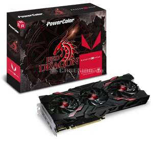 PowerColor Radeon RX Vega 56 Red Dragon, 8192 MB HBM2