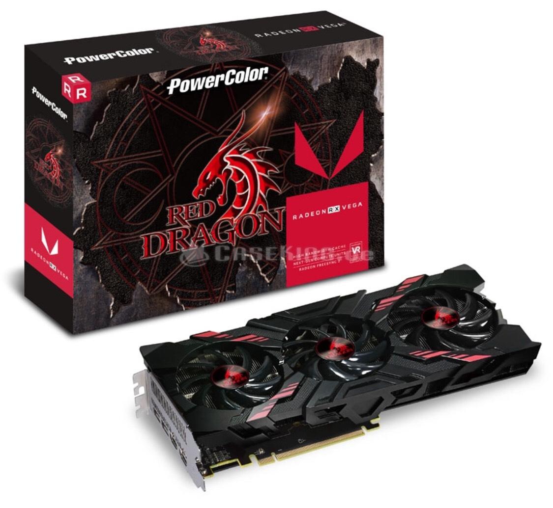 PowerColor Radeon RX Vega 56 Red Dragon, 8192 MB HBM2