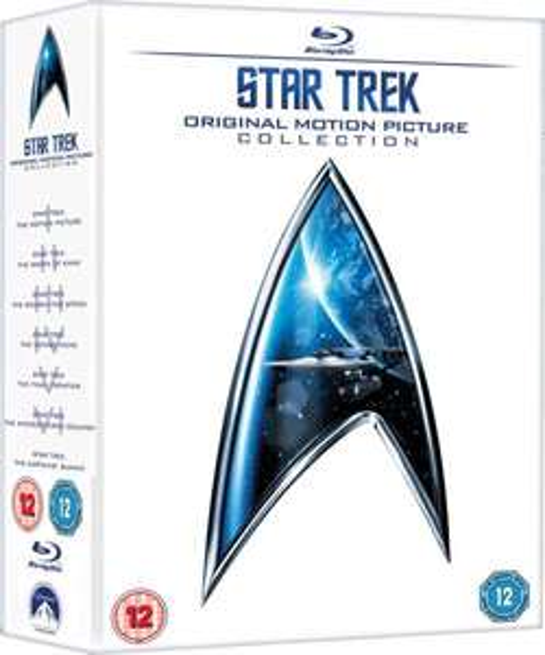 Star Trek 1 - 6 Box Set (Blu-ray)