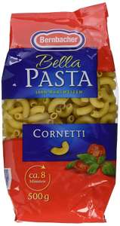 [amazon Plus Produkt] 5x Bernbacher Pasta 500g Cornetti für 3,49€