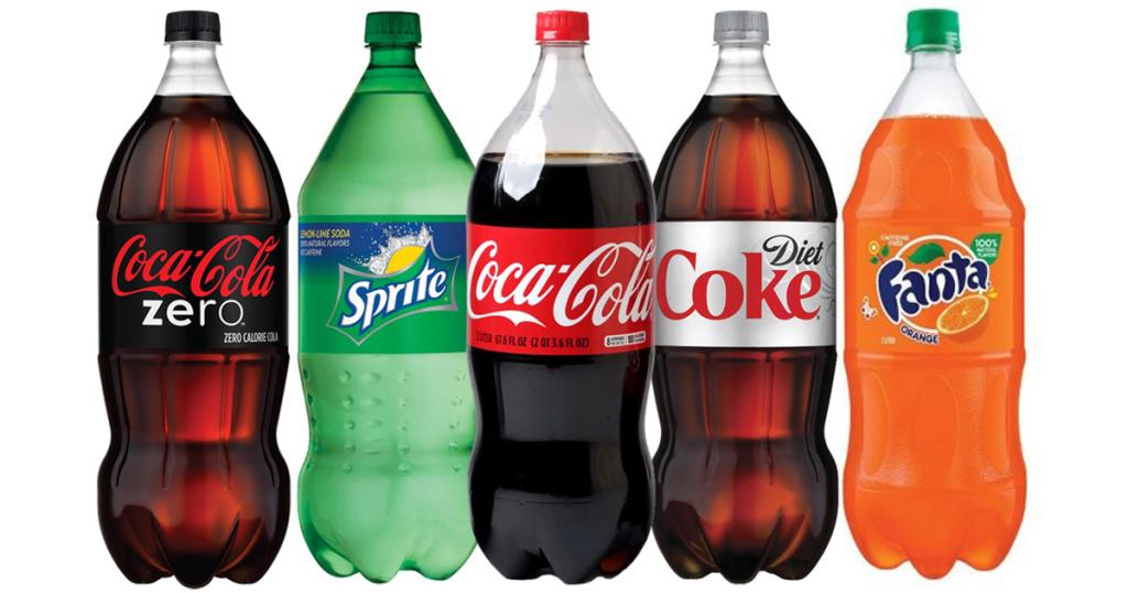 Penny: Coca-Cola, verschiedene Sorten, 2 Liter PET-Flasche (=0,60€/Liter)
