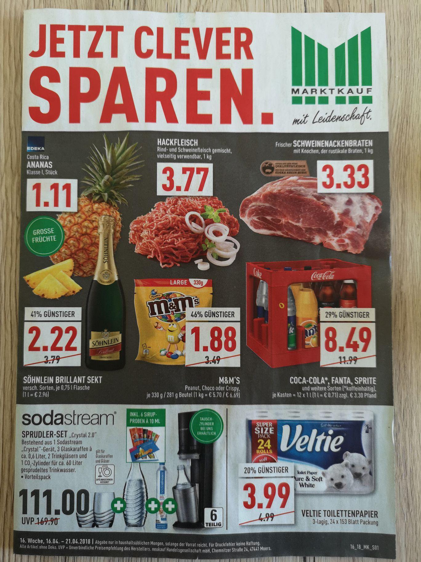 Marktkauf Münster- M&M's Peanut und weitere Sorten - 1kg ab 5,70€
