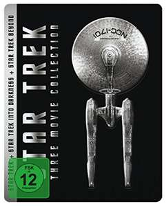 Star Trek - Three Movie Collection Steelbook Limited Edition (Blu-ray) für 17,95€ (Amazon Prime)
