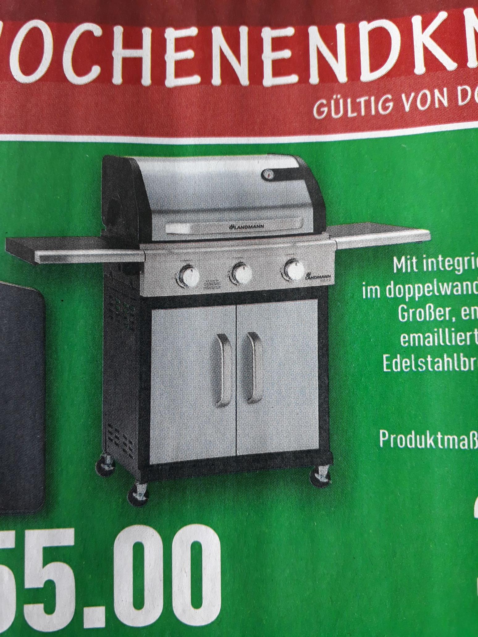 [Lokal Nordhorn] Landmann Triton PTS 3 Gasgrill