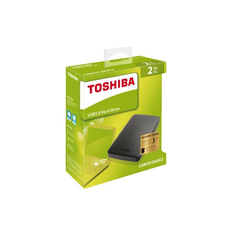 TOSHIBA 2 TB Canvio Externe Festplatte, 2.5 Zoll / versandkostenfrei Media Markt