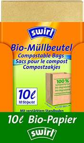 70 Swirl Bio-Müll-Papierbeutel  Amazon Plus Produkt