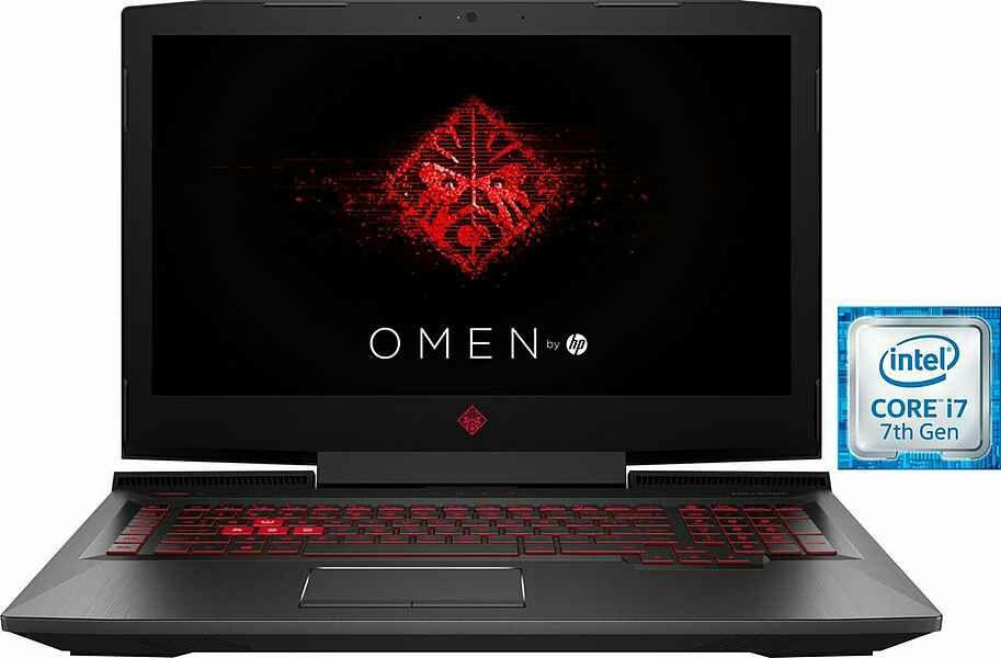 """(OTTO) HP Omen 17-an052ng 17"""" i7-7700 HQ 1070GTX SSD+HDD"""