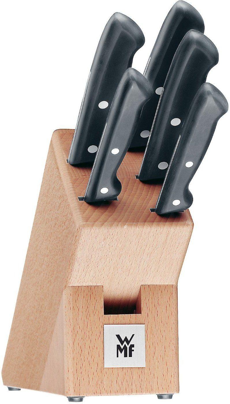 WMF Classic Line Messerblock Buche 6 tlg. für 42,99€ inkl.Versand über die Check24 App