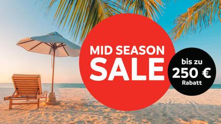 Mid-Season Sale bei Sunweb, z.B. 14 Tage Kos im 4*-Hotel inkl. Flug für 399,96 p.P.