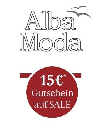 Alba Moda: Sale mit bis zu 50% Rabatt & 15,-€ Extra-Rabatt auf Sale Artikel (49,95€ MBW)