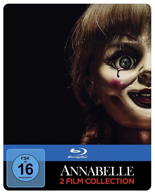 Annabelle 1 + 2 (Steelbook) auf Blu-Ray bei Amazon Prime