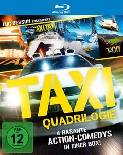 Taxi Teil 1-4 Collection (Blu-ray) für 19,97€ (Amazon Prime)