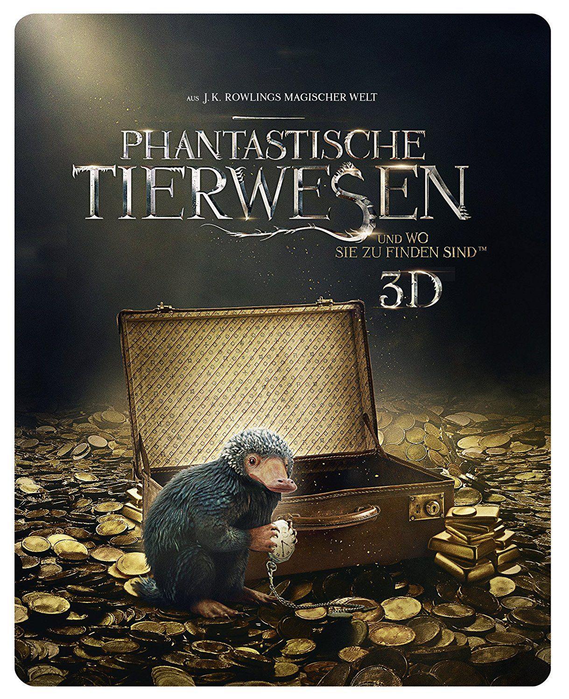 Phantastische Tierwesen und wo sie zu finden sind (3D Steelbook) auf Blu-Ray über Amazon Prime