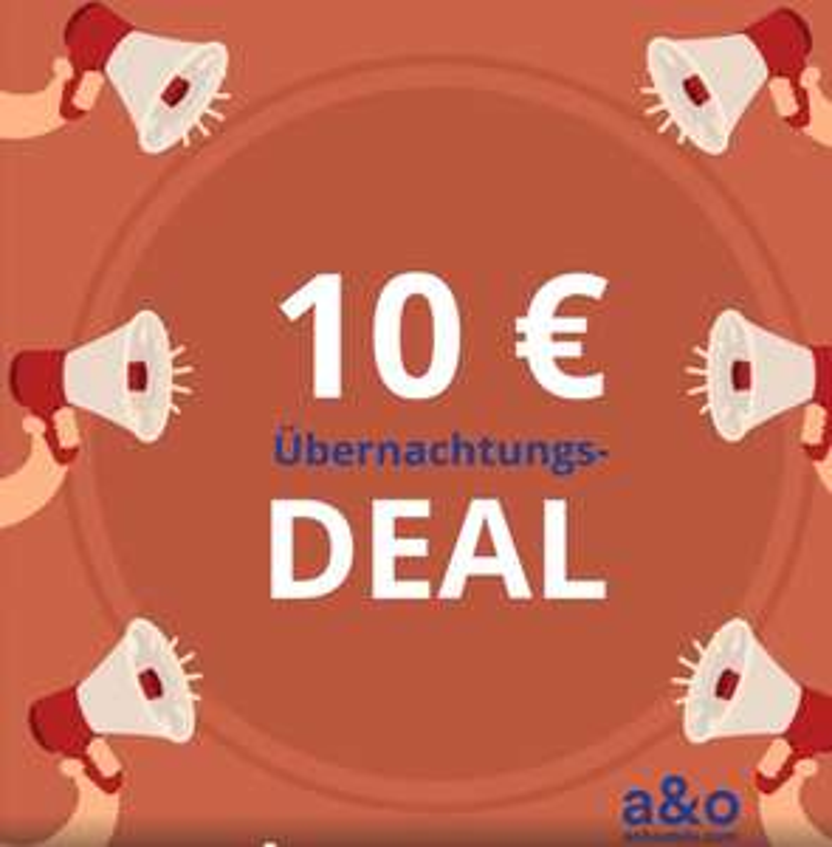 10€ pro Person 8.7.2018 - 20.7.2018