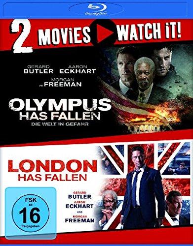 Olympus Has Fallen - Die Welt in Gefahr & London Has Fallen (2 Disc Blu-ray) für 8,99€ (Amazon Prime & Dodax)