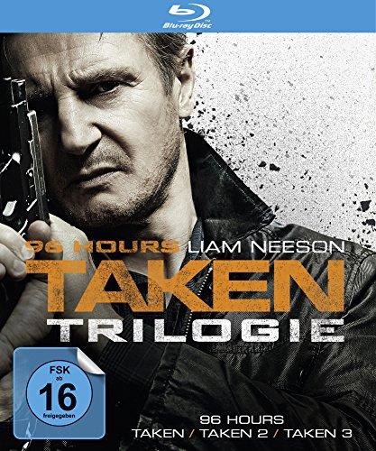 96 Hours - Taken 1-3 Trilogie (Blu-ray) für 16,97€ (Amazon Prime)