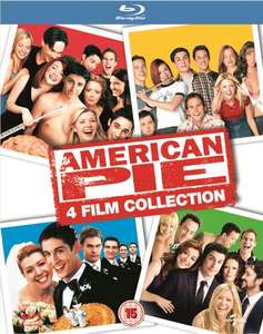 American Pie: 4-Film Collection (4x Blu-ray) für 6,20€ (Zoom.co.uk)