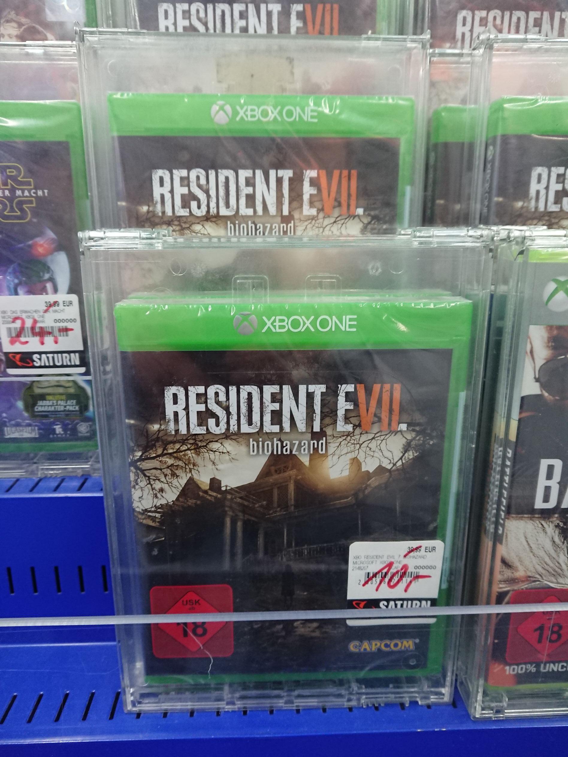 [Lokal Stuttgart Mitte]  Saturn Resident Evil 7 Xbox One
