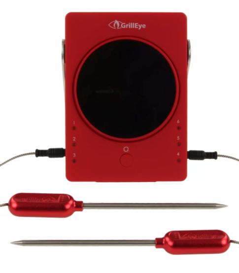 Deals für die Grillparty bei Comtech, z.B. GrillEye Smart Bluetooth Thermometer