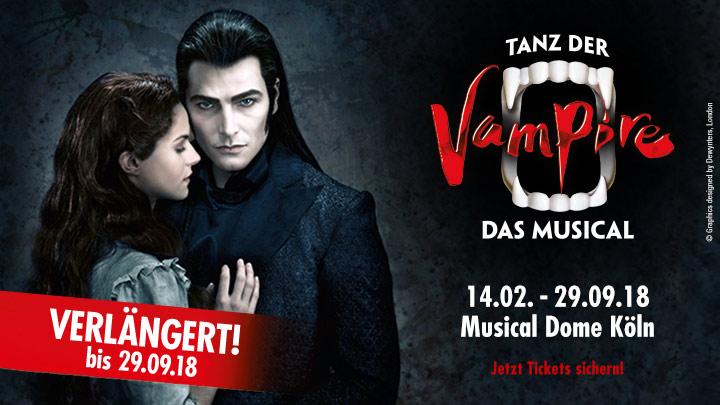 Musical Köln: Tanz der Vampire 6000 Tickets für je 60 Euro - PK 1 - 3