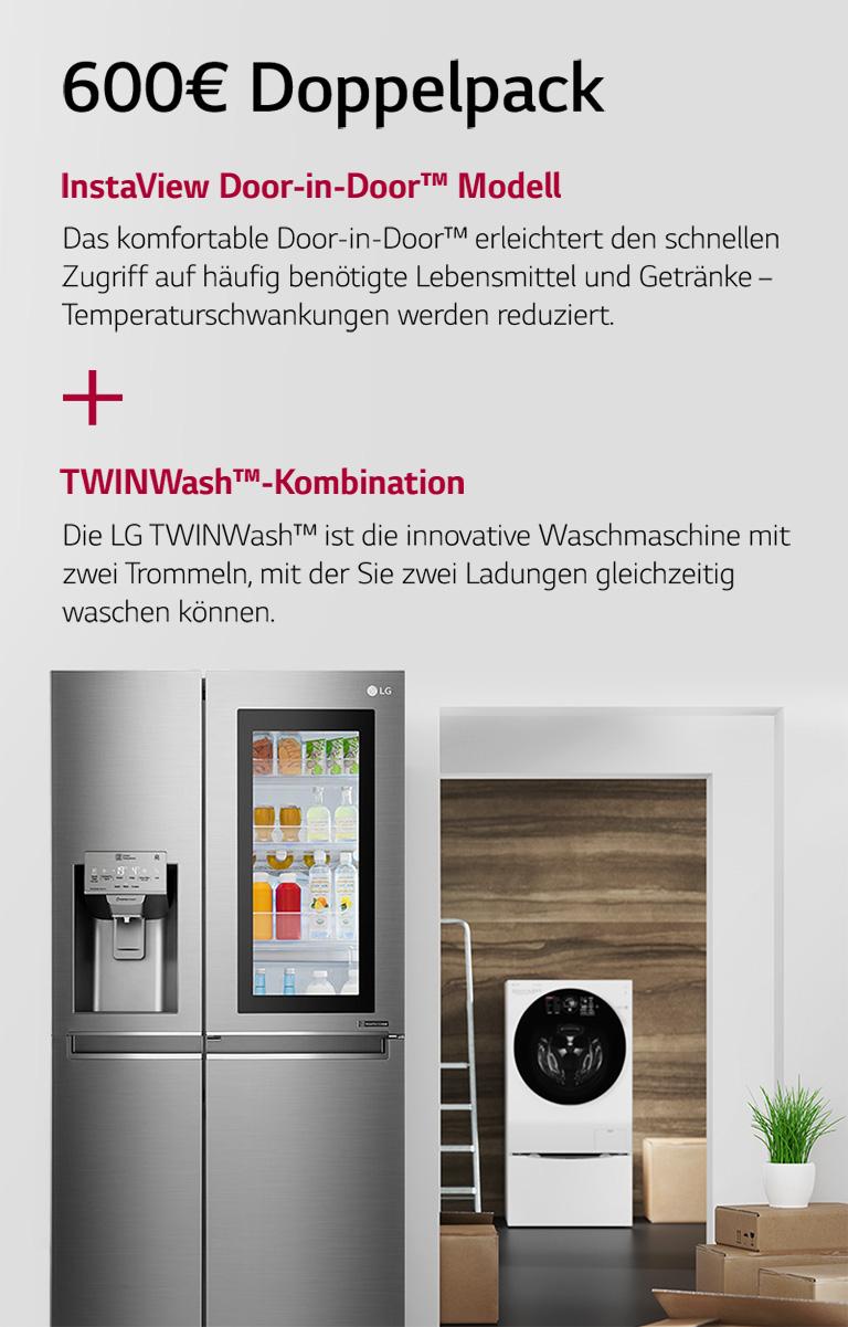 """LG Umzugscashback Aktion, """"Statt Brot und Salz"""" mit bis zu 600 €"""