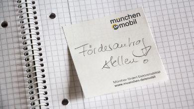 (LOKAL) Elektroroller Förderung von bis zu 1200 Euro München