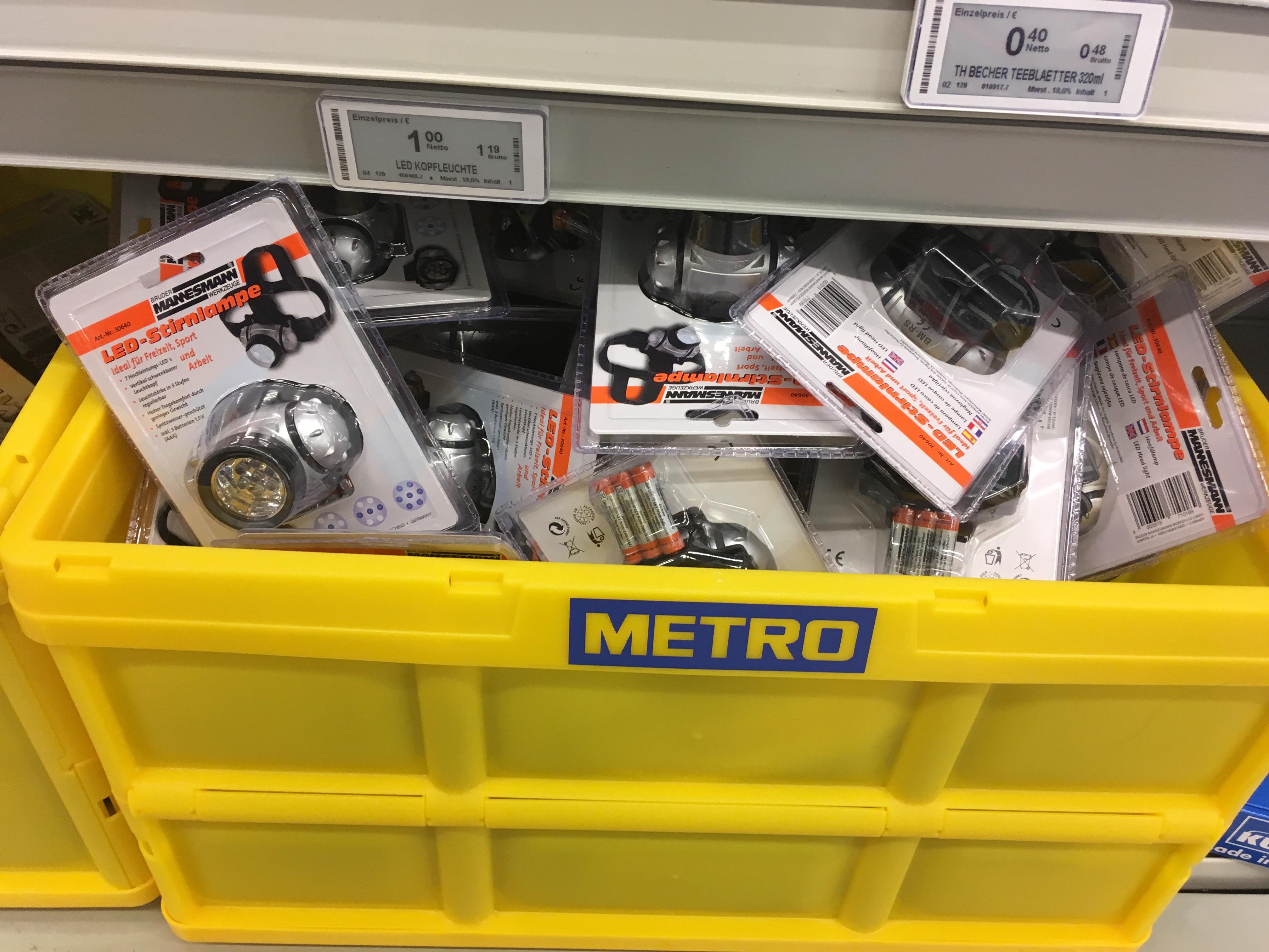 [Lokal Metro NEU-ULM] Mannesmann LED-Kopfleuchte M30640
