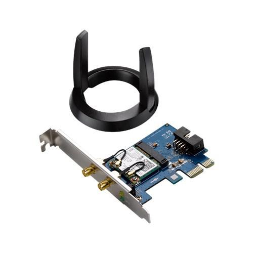 [NBB] ASUS PCE-AC55BT Dualband Wireless-AC1200 PCI-E-Adapter [WLAN AC, bis zu 867 Mbit/s, Bluetooth 4.2] 90IG02Q0-MM0010