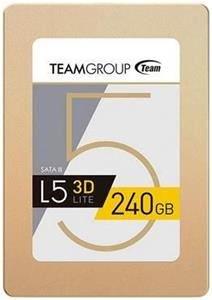 Team L5 Lite 3D SSD 240GB SATA 6 GB/s; lesen: 470 MB/s schreiben: 400 MB/s inkl. Versand