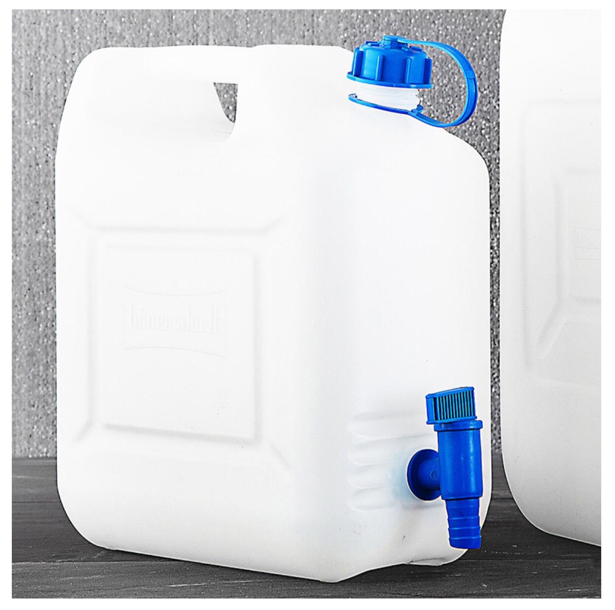Wasserkanister mit Auslaufhahn 10L 6,99€ oder 20L 9,99€ bei Norma