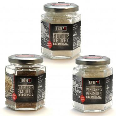 3er Set Weber Gourmet-Salze