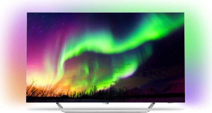 Philips 65OLED873 65''-UHD-OLED-TV mit HDR10+, 100Hz nativ und Ambilight für 2699,99€ [Amazon]
