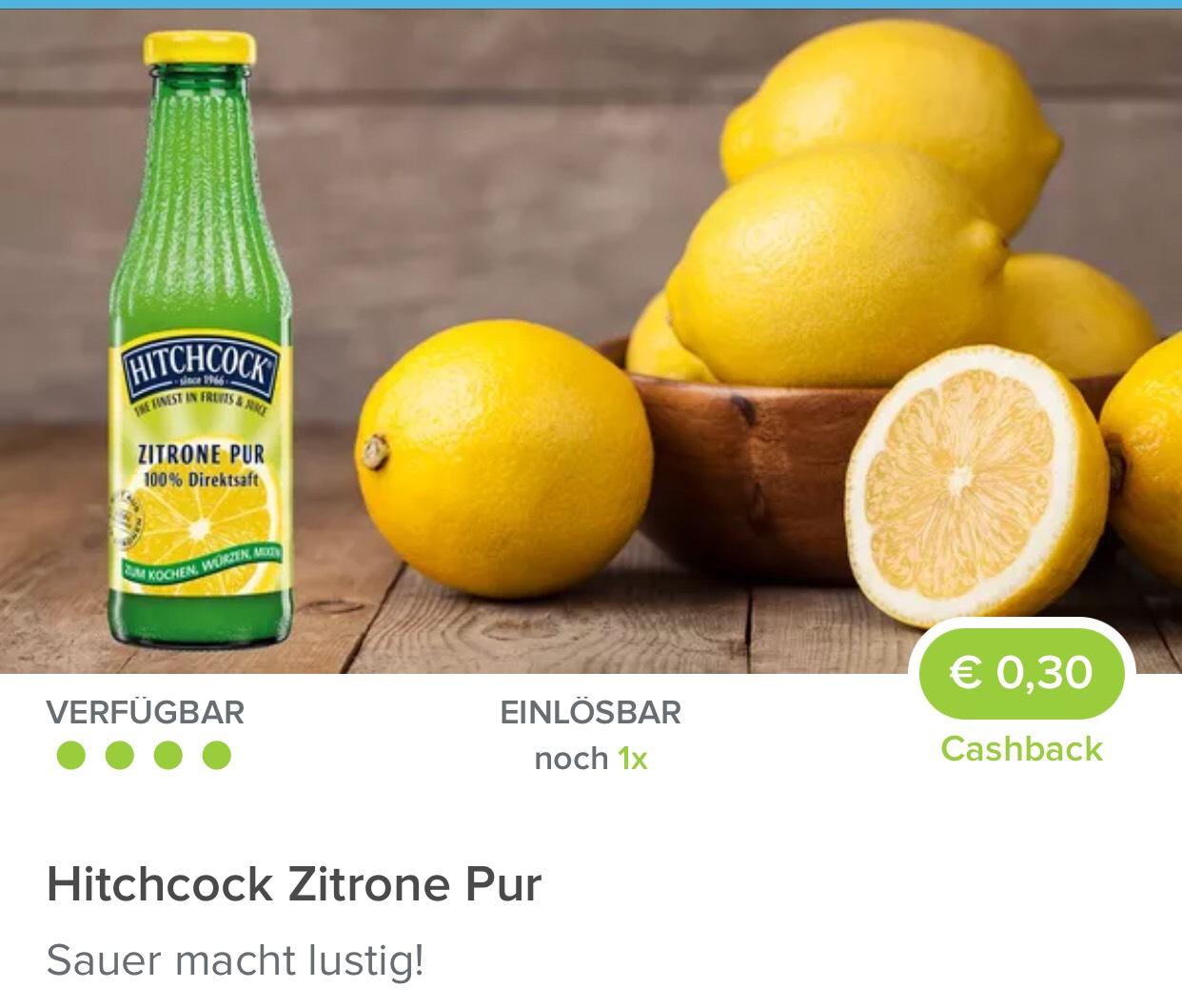 Hitchcock 0,30€ Rabatt (Cashback) von Marktguru