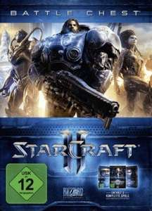 Starcraft II: Battle Chest 2.0 (Heart of the Swarm + Wings of Liberty + Legacy of the Void) (PC) für 14,15€ (CDKeys)