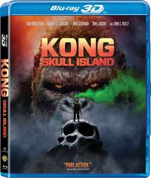 Kong: Skull Island 3D [Blu-ray] für 9,79€ [eBay]