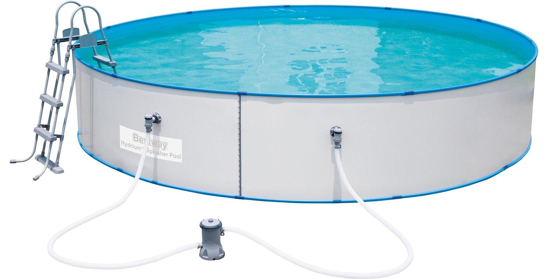 Bestway Hydrium Splasher Pool-Set 460x90cm mit Filterpumpe + Zubehör (Obi Kamp Lintfort)