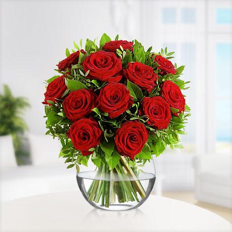 20 rote Rosen für das Gewissen! inkl. Versand