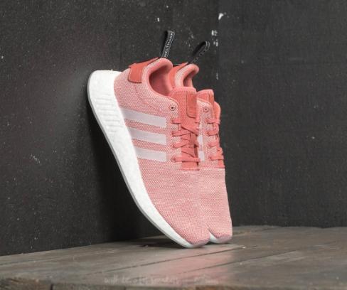 NMD R2 in Ash Pink/Crystal White Damen Sneaker